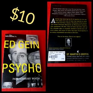 Ed Gein Psycho by Paul Anthony Woods