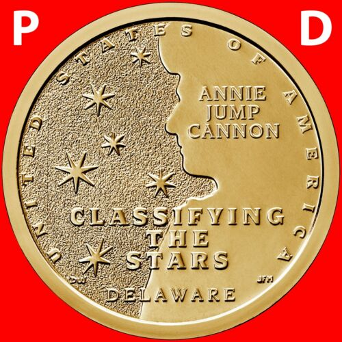 2019 P&D SET AMERICAN INNOVATION (DELAWARE) DOLLARS UNCIRCULATED COINS