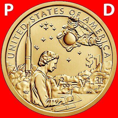 2019 P&D SACAGAWEA NATIVE AMERICAN UNCIRCULATED DOLLAR SET SPACE PROGRAM