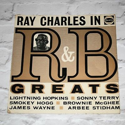 Various Artists - Ray Charles In R&B Greats - LP - Realm – RM 101
