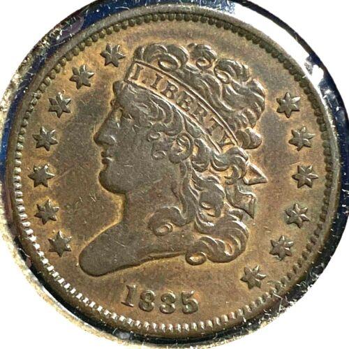 1835 1/2C Classic Head Half Cent (56362)