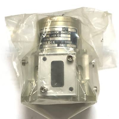 Wr-75 Wr75 Waveguide Switch Hsr-12-9 Teldix 1991