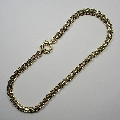 1343 - Exquisites 45,5 cm Collier aus 47,92 Gramm 585 Gelbgold & Weißgold - G15