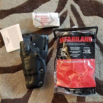 6275-83-62 Left Handed Holster Glock 17 Glock 22 Belt Loop Raptor Level 3