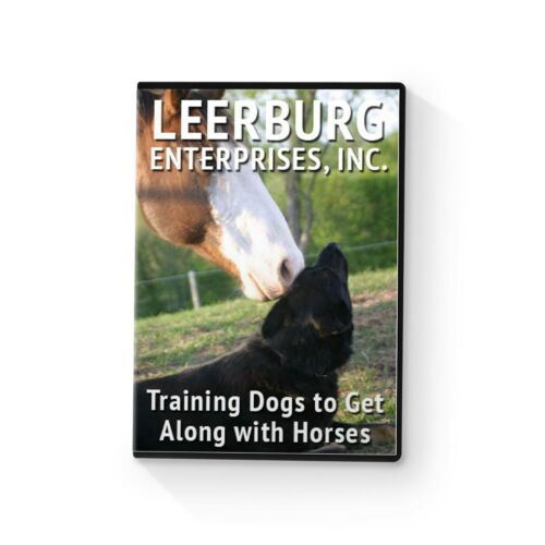 Training Dogs to Get Along with Horses DVD by Leerburg