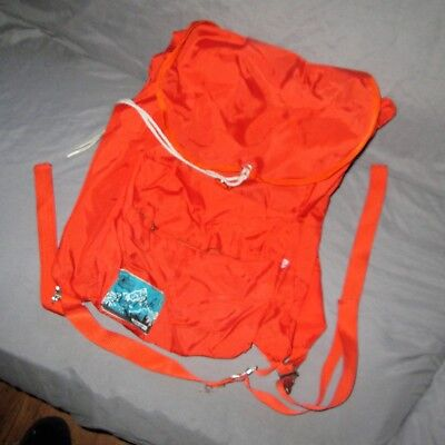 VINTAGE K-Mart daypack, schoolbag, back pack costume collectible GOOD SHAPE! - Kmart Costumes