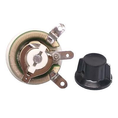 25w 500 Ohm High Power Wirewound Potentiometer Rheostat Variable Resistor