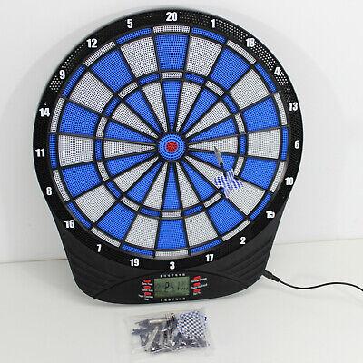 Elektronische Dartscheibe BAVARIA BLUE   LCD Computer SOFT Dartboard 2171