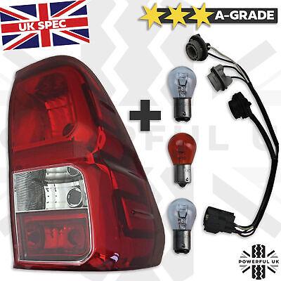Rear lamp RIGHT fit Toyota Hilux Revo tail light RH Offside 2016 O/S UK red FOG