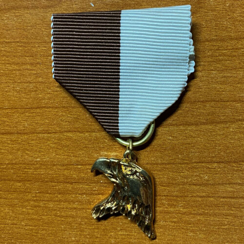 Royal Rangers Obsolete Gold Hawk Medal