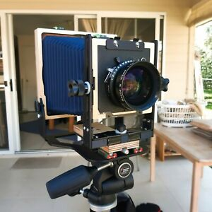Intrepid 4x5 Large Format Kit 210mm f 5.6 Nikkor Film Holders More