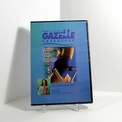- Tony Little's Gazelle Freestyle Lower Body Solution (DVD) Personal Trainer - NEW