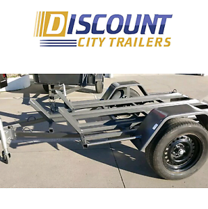 Motorcycle Trailer 3 Lane Carry Motorbikes Campbelltown Campbelltown Area Preview