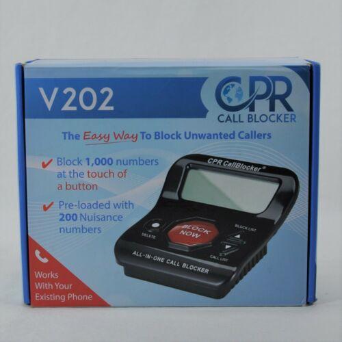CPR Call Blocker V202, Block Unwanted Calls On Landline Phones