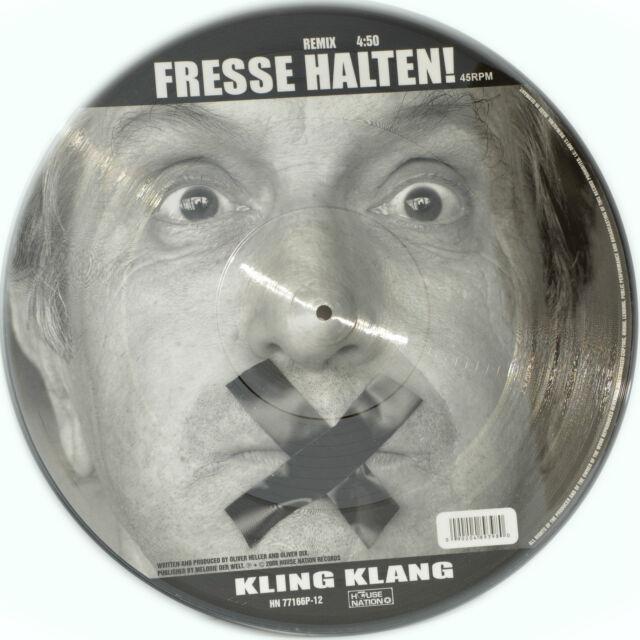 Picture Vinyl Kling Klang Fresse Halten!  Limited Edition