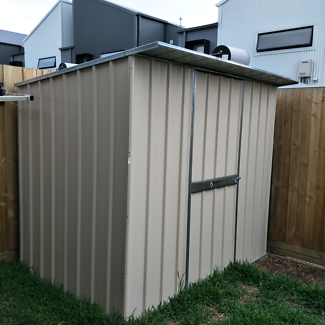 Garden Shed 2.26m X 1.52m Skillion Roof As New