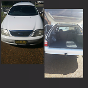Ford Falcon Wagon White Wyong Wyong Area Preview