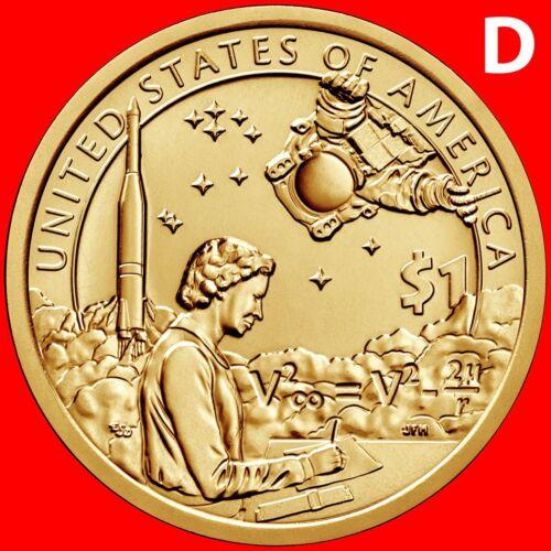 2019-D SACAGAWEA NATIVE AMERICAN DOLLAR UNCIRCULATED SET SPACE PROGRAM