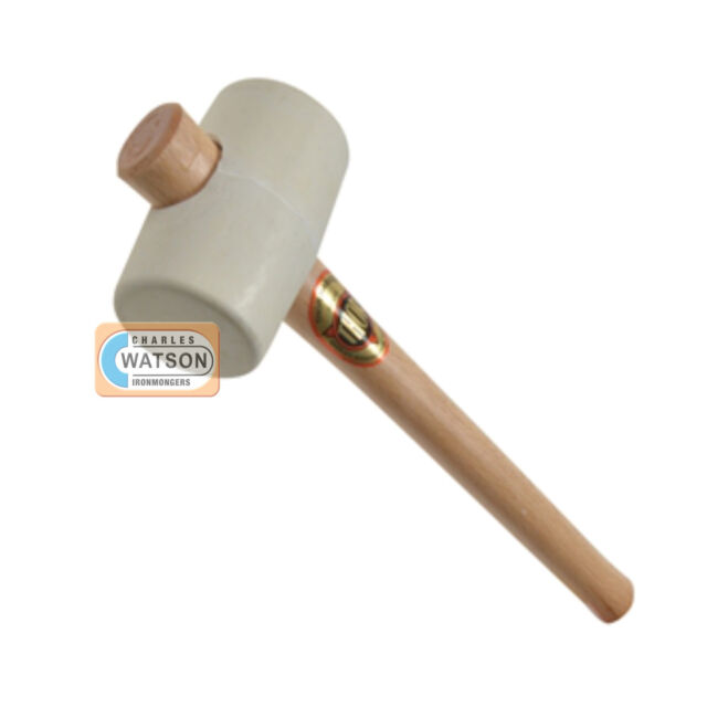 "THOR 952W (2.1/8"") WHITE RUBBER MALLET Hammer Head (2.1/8in)"