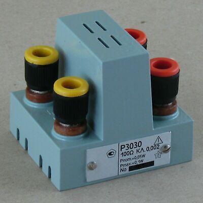 100ohm 100kohm 0.002 P3030 Resistor Standard Resistance An-g Leeds Northrup