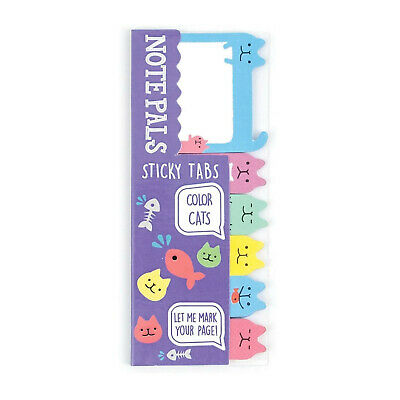 Ooly Note Pals Sticky Tabs Color Cats