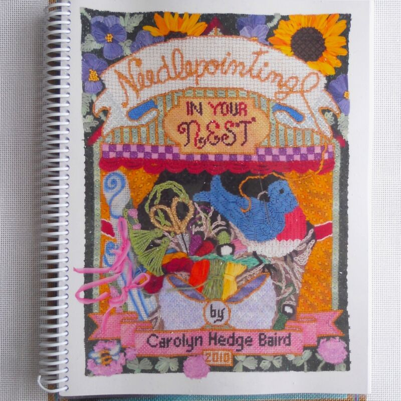 Carolyn Hedge Baird Needlepointing in Your Nest needlepont Stitch reference book