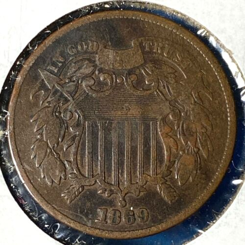 1869 2C Two Cent Piece (56290)