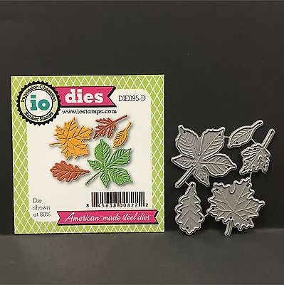Small Leaf metal die set - Impression Obsession dies DIE095-D Autumn,fall,leaves
