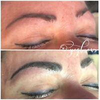 Microblading and permanent cosmetics services