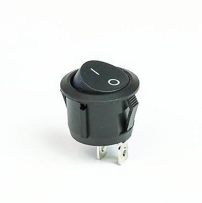 Wippschalter Wippenschalter ON/ OFF Ein / Aus 250V 10A 1polig Kunststoff schwarz