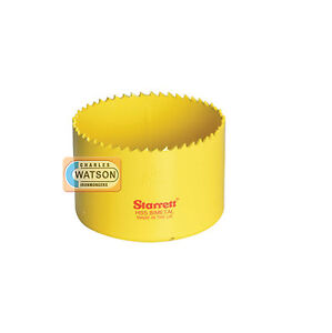 Starrett-89mm-Holesaw-High-Speed-Steel-Bi-Metal-Hole-Saw-HSS-Wood-Metal-Plastic