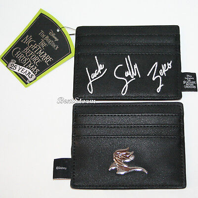 Disney The Nightmare Before Christmas Money Cash Credit Card Holder Loungefly