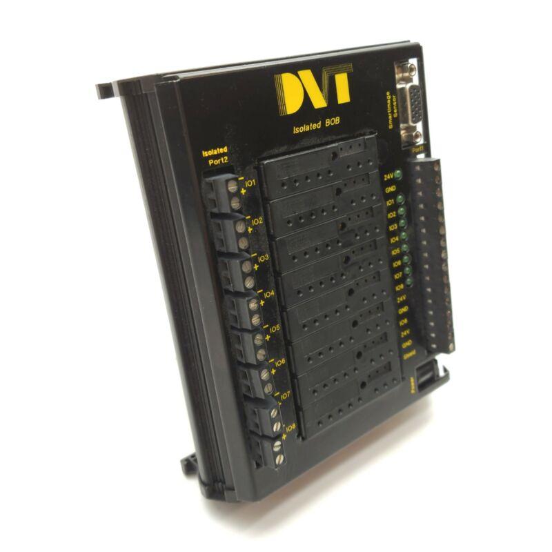 DVT CON-IBOB Isolation Breakout Board, 15-Pin D-Sub, 8x Relays, 24VDC, DIN Rail