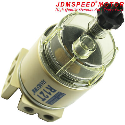 R12T Fuel Filter Water Separator Diesels Engine For Racor 140R 120AT S3240 NPT