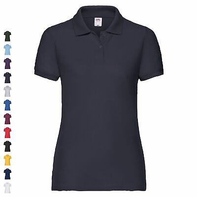 Fruit of the Loom 65/35 Polo Lady-Fit Poloshirt FOL