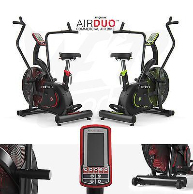 AirDuo Air Assault Exercise Bike Cardio Machine Fitness Cycle HeavyDuty MMA Bike