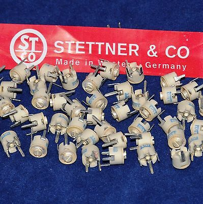 Lot 15 Pcs 3.5-13 Pf - New - Variable Ceramic Trimmer Capacitors From Usa