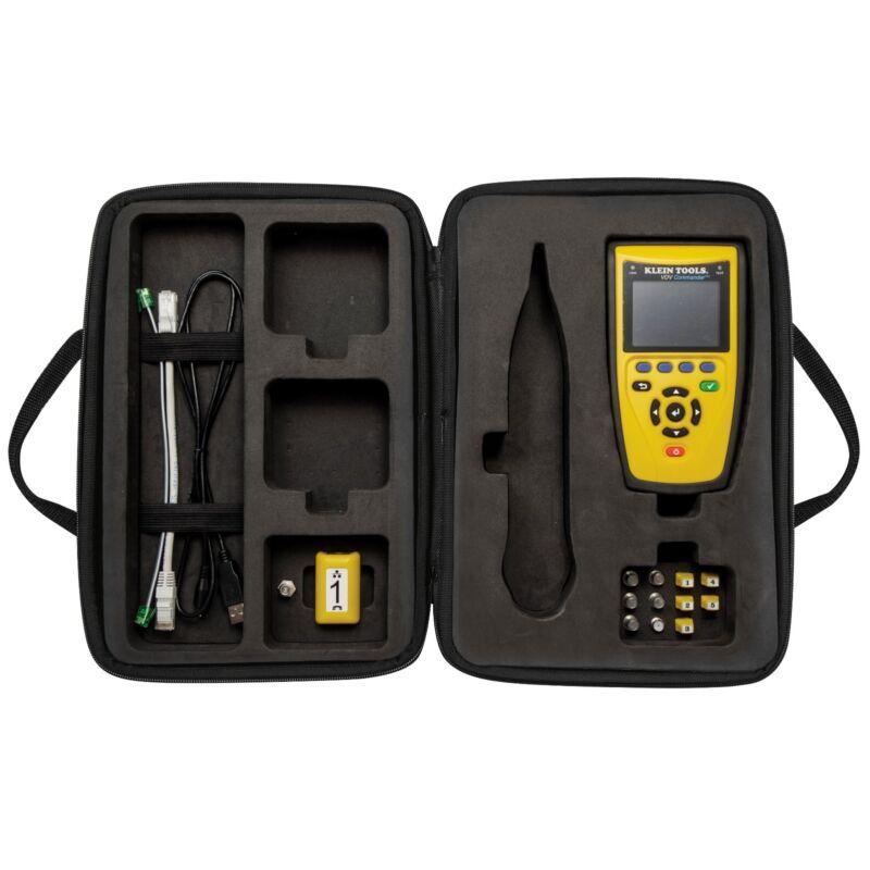 Klein Tools VDV501-828 VDV Commander Test Kit - PoE