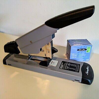 Swingline Heavy Duty Desktop Stapler 160 Sheet Capacity Blackgray And Staples