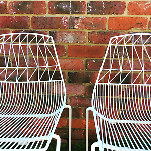 White wire chairs for hire Woodvale Joondalup Area Preview
