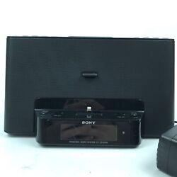 Sony ICF-CS15iPN iPhone/iPod Radio Speaker Dock Lightning port No Remote 8.B6