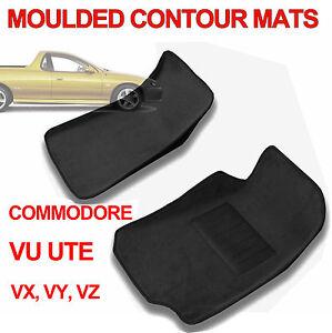 Holden VU VX VY VZ Commodore Ute MOULDED 3D Carpet Car Floor Mats
