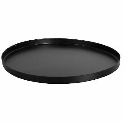 Esschert Design Bodenplatte Feuerkorb rund schwarz Eisen Schutzplatte 50x3 cm