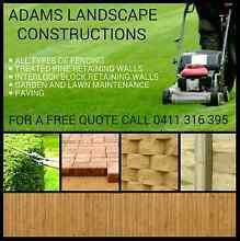 ADAMS LANDSCAPE CONSTRUCTIONS. Pimpama Gold Coast North Preview