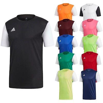 Adidas T Shirt Mens Estro 19 Climalite Short Sleeve Top Football Size S M L XL (Adidas Football Shirt)