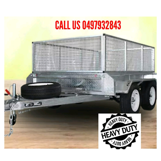 8×5 tandem axle trailers with top quality Bayswater Knox Area Preview