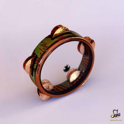 Professional Emin Percussion Riq Tef Tambourine Def Drum EP-116-B3