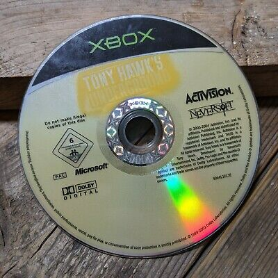 Tony Hawk's Underground (Original Xbox) Retro Skateboarding *DISC ONLY*
