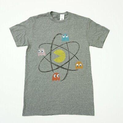 Changes Mens Tee Pac-Man Nucleus Graphic Print T Shirt Gray Grey