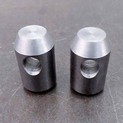 John Deere Quick Attach Weld Bracket Loader Bucket Bottom Pins Lot Of 2 Usa